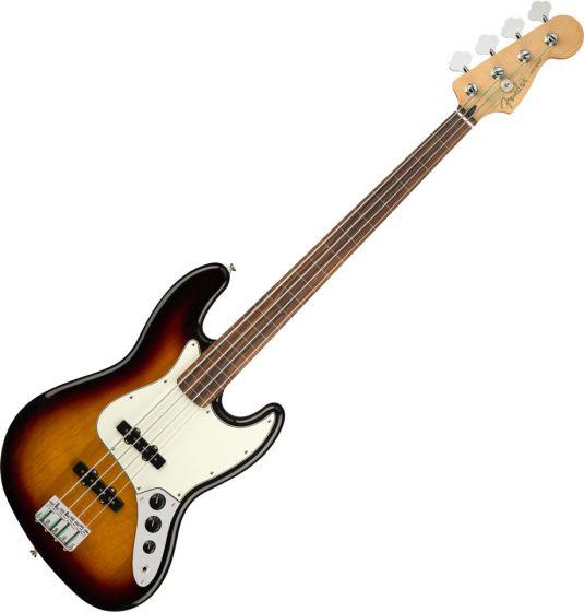Fender Player Jazz Bass Electric Guitar Fretless 3-Color Sunburst 0149933500