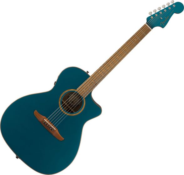 Fender Newporter Classic Acoustic Guitar Cosmic Turquoise 0970943299