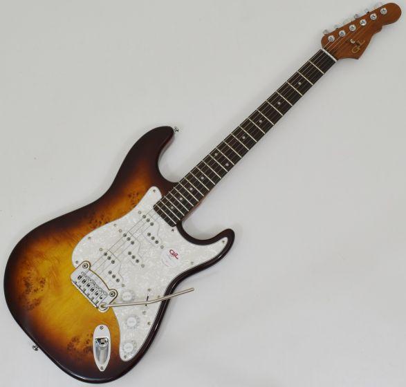 G&L Tribute Comanche Electric Guitar Tobacco Sunburst sku number TI-COM-154R24R30
