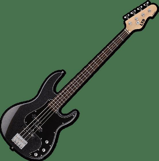 ESP LTD AP-204 Electric Bass in Charcoal Metallic LAP204CHM