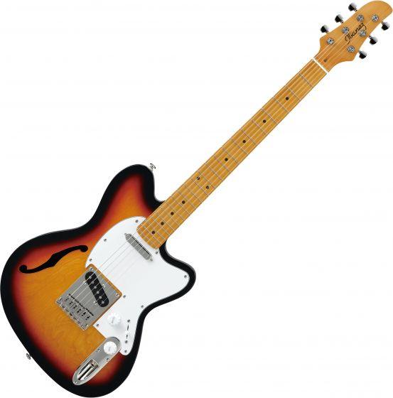 Ibanez Talman Standard TM302HM Semi-Hollow Electric Guitar Tri Fade Burst TM302HMTFB