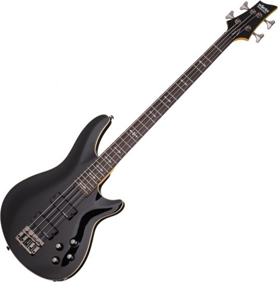 Schecter Omen-4 Electric Bass in Gloss Black Finish sku number SCHECTER2090