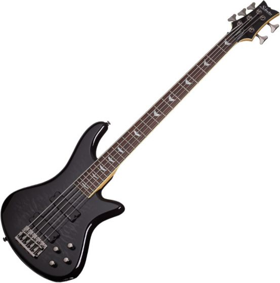 Schecter Stiletto Extreme-5 Electric Bass See-Thru Black SCHECTER2504