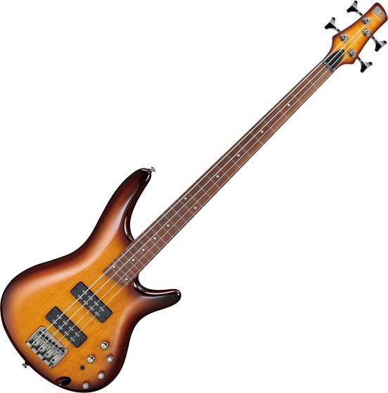 Ibanez SR Standard SR370EF Fretless Electric Bass Brown Burst SR370EFBBT