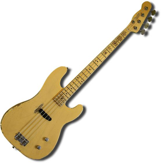 Fender Custom Shop Dusty Hill Signature Precision Bass Electric Guitar Nocaster Blonde 0158602899