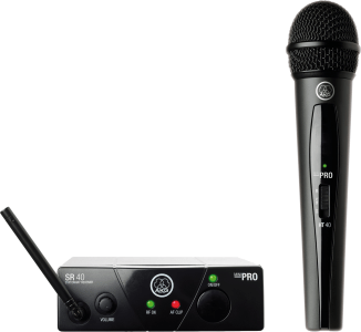 AKG WMS40 Mini Single Vocal Set Wireless Microphone System - Band B 3347X00120