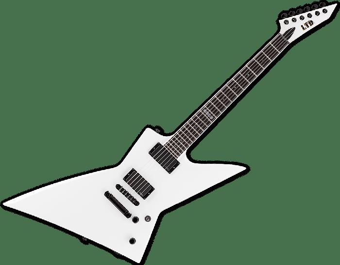 ESP LTD EX-401 Electric Guitar in Snow White LEX401SW