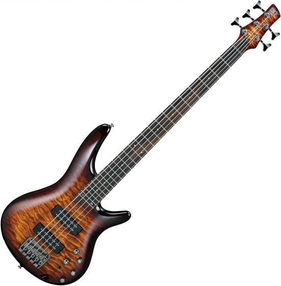 Ibanez SR Standard SR405EQM 5 String Electric Bass Dragon Eye Burst SR405EQMDEB