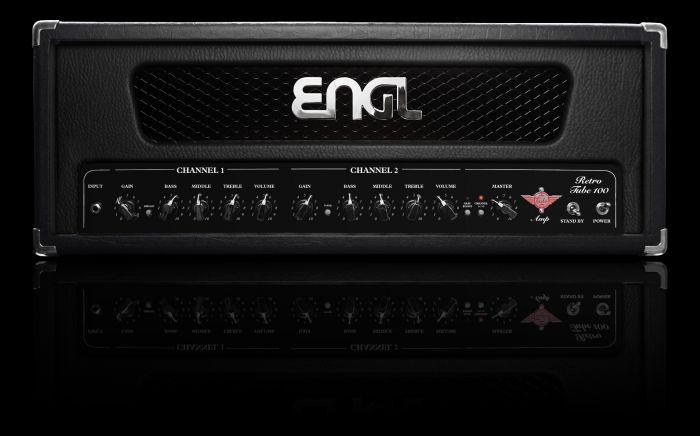 ENGL Amps RETRO E765 100 Watt HEAD (incl. black, red, & white frames) E765
