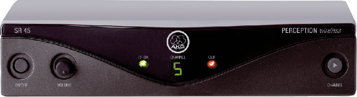AKG SR45 High-Performance Wireless Stationary Receiver - Frequency A 3245H00010