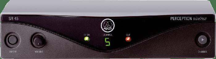 AKG SR45 High-Performance Wireless Stationary Receiver - Frequency U5 3245H00090