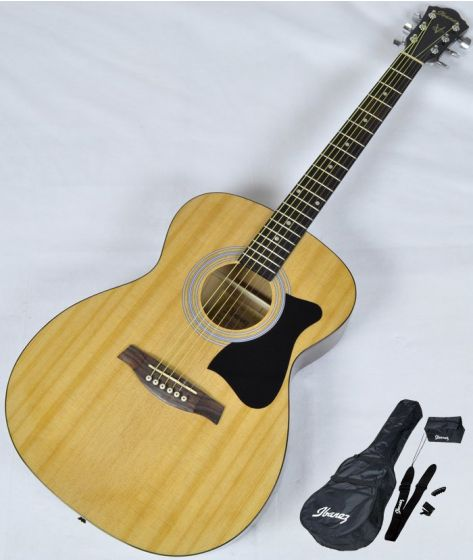 Ibanez IJVC50 JAMPACK Acoustic Guitar Package in Natural High Gloss Finish sku number IJVC50.B