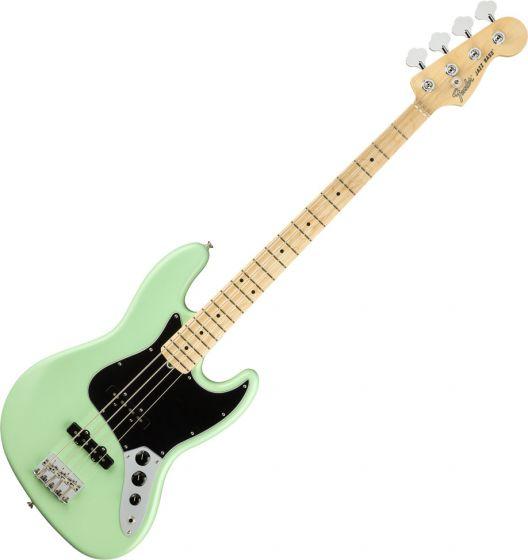 Fender American Performer Jazz Bass Electric Guitar Satin Surf Green 0198612357