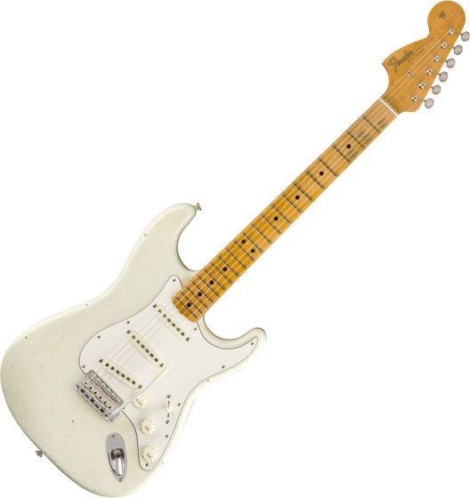 Fender Custom Shop Jimi Hendrix Voodoo Child Strat - Journeyman Relic Electric Guitar Olympic White 1510682805