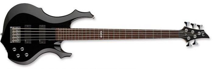 ESP LTD F-105 Bass in Black sku number LF105BLK