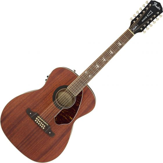Fender Tim Armstrong Hellcat-12 Acoustic Guitar Natural 0971792022