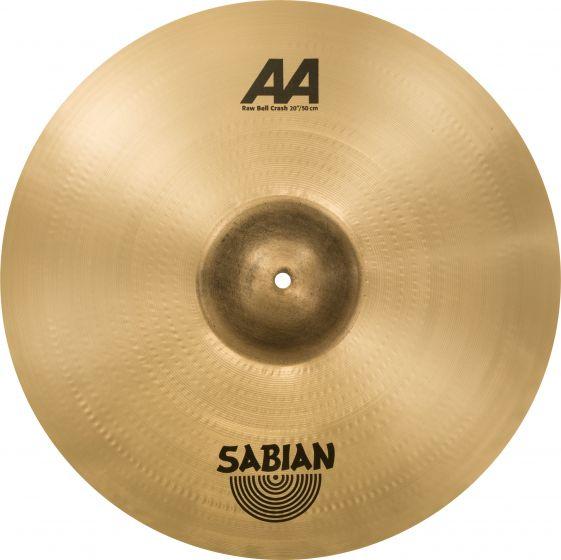 """Sabian 20"""" AA Raw Bell Crash 2200772"""