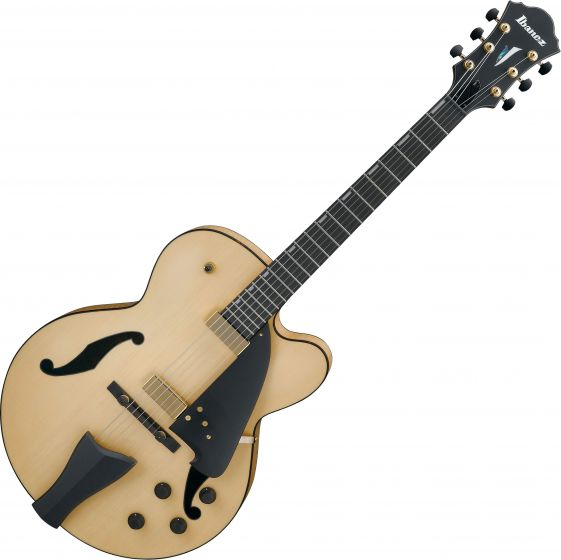 Ibanez AFC Contemporary Archtop AFC95NTF Electric Guitar Natural Flat AFC95NTF