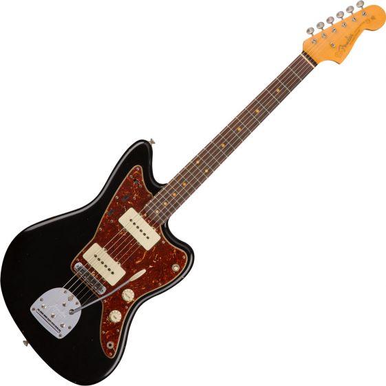 Fender Custom Shop 1959 Journeyman Relic Jazzmaster Electric Guitar Aged Black 1511220806