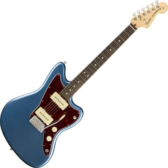 Fender American Performer Jazzmaster Electric Guitar in Satin Lake Placid Blue 0115210302