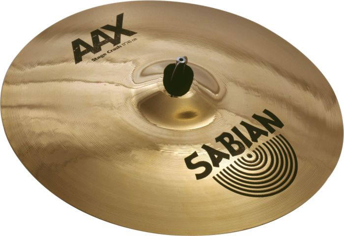 "Sabian 17"" AAX Stage Crash Brilliant Finish 21708XB"