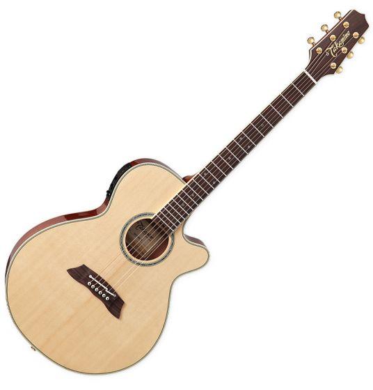Takamine Thinline Series TSP138C N Acoustic Electric Guitar Natural Gloss TAKTSP138CN