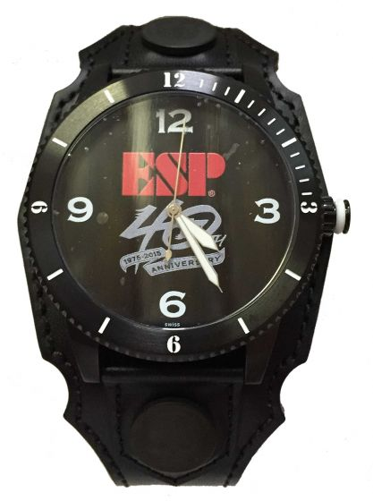 ESP Limited Edition 40th Anniversary Affliction Watch with Case and COA 6SM40THWATCHSE