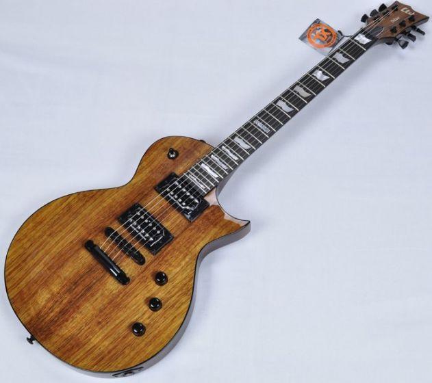 ESP LTD Deluxe EC-1000 KOA Top Guitar in Natural B-Stock LEC1000KNAT.B