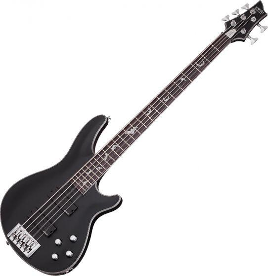 Schecter Damien Platinum-5 Electric Bass Satin Black SCHECTER1201
