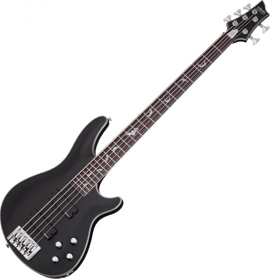 Schecter Damien Platinum-5 Electric Bass Satin Black sku number SCHECTER1201