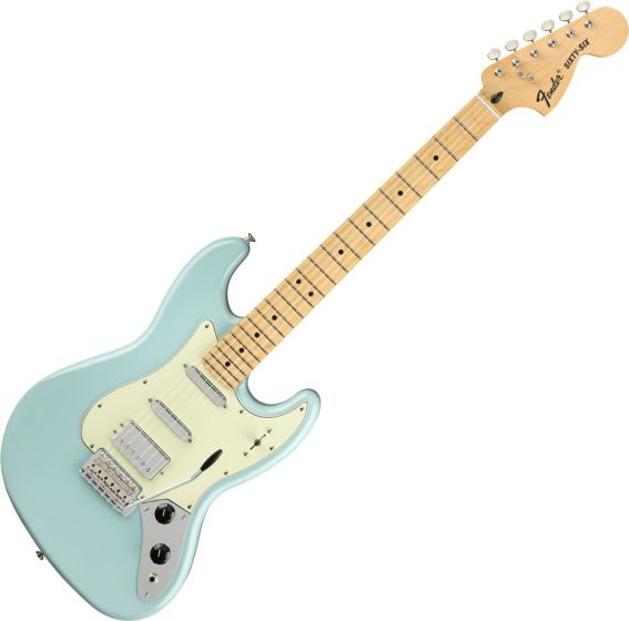 Fender The Sixty-Six Electric Guitar Daphne Blue 0145022304