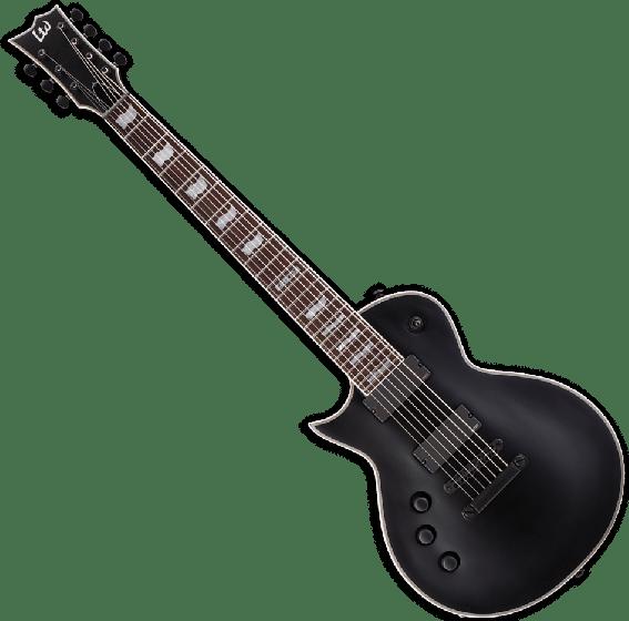 ESP LTD EC-407 7 Strings Left Handed Electric Guitar in Black Satin B-Stock LEC407BLKSLH.B