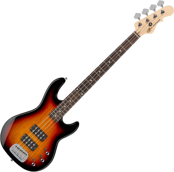 G&L Tribute L-2000 Electric Bass 3-Tone Sunburst TI-L20-120R20R00