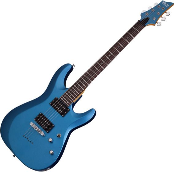 Schecter C-6 Deluxe Electric Guitar Satin Metallic Light Blue sku number SCHECTER431