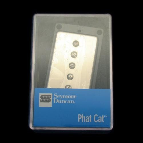 Seymour Duncan SPH90-1N Phat Cat Neck Pickup(Nickel Cover) 11302-15-NC