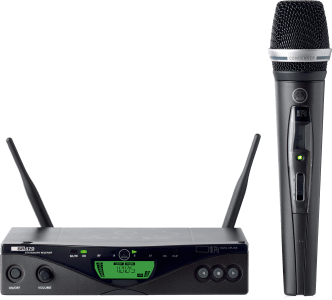AKG WMS470 C5 VOCAL SET BD8 - Professional Wireless Microphone System 3306X00380