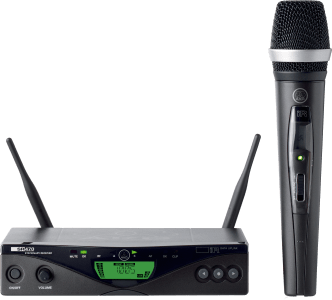 AKG WMS470 D5 VOCAL SET BD1 - Professional Wireless Microphone System B-Stock 3305X00010.B