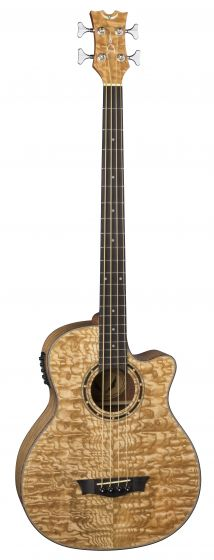 Dean Exotica Quilt Ash Acoustic Electric Bass GN EQABA GN sku number EQABA GN