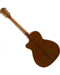 Fender FA-345CE Auditorium Acoustic Guitar 3-Tone Tea Burst