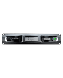 Crown Audio DCi 2|600N Two-channel 600W @ 4Ω Power Amplifier with BLU Link 70V/100V