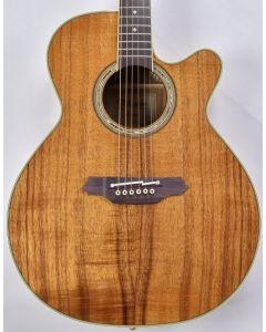 Takamine EF508KC Legacy Series KOA Top Acoustic Guitar in Natural Gloss Finish B-Stock