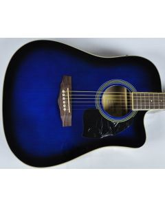 Ibanez PF15ECEWC-TBS PF Series Acoustic Guitar in Transparent Blue Sunburst High Gloss Finish SA150300756