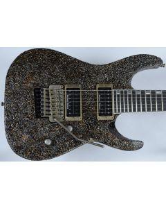 ESP M-II 7 String Exhibition Japan Custom Shop Guitar in Rusty Iron