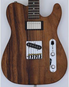 G&L USA ASAT Classic Bluesboy Monkey Pod Electric Guitar in Natural Finish