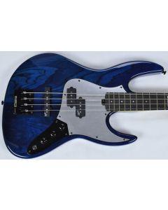 ESP LTD PT-4 Pancho Tomaselli Electric Bass in Black Aqua