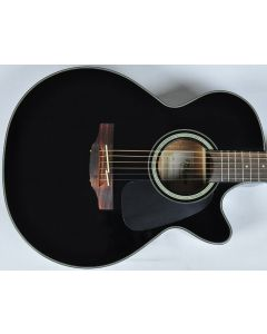 Takamine GF30CE-BLK G-Series G30 Cutaway Acoustic Electric Guitar Black B-Stock