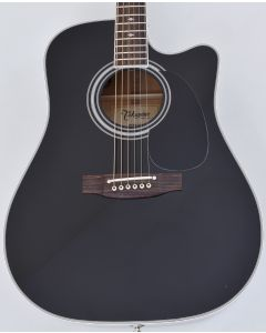 Takamine EF341SC Legacy Series Acoustic Guitar in Black B Stock