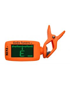 GoGo Tuners MINI Clip on Tuner for Electric and Acoustic Instruments