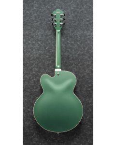 Ibanez AFS75T MGF AFS Artcore 6 String Metallic Green Flat Semi Hollow Body Electric Guitar