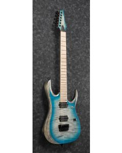 Ibanez RGD61AL SSB RGD Axion Label 6 String Stained Sapphire Blue Burst Electric Guitar